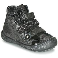 Cipők Lány Magas szárú edzőcipők Citrouille et Compagnie HODIL Fekete