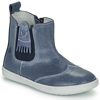 Cipők Fiú Csizmák Citrouille et Compagnie LESKIMO Kék