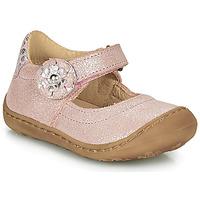 Cipők Lány Balerina cipők  Citrouille et Compagnie LASKIMA Rózsaszín