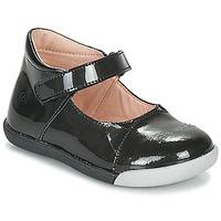 Cipők Lány Balerina cipők / babák Citrouille et Compagnie LAKALA Fekete