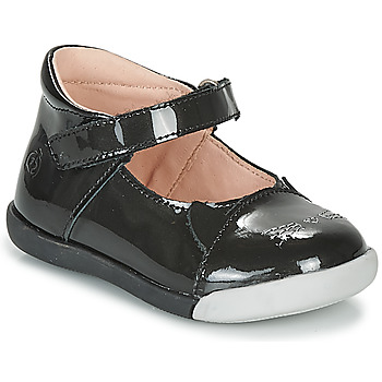 Cipők Lány Balerina cipők  Citrouille et Compagnie LAKALA Fekete