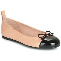 Cipők Lány Balerina cipők / babák Citrouille et Compagnie LIOGE Bőrszínű / Fekete