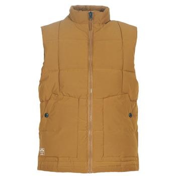 Ruhák Férfi Steppelt kabátok Oxbow L2JONBAY Teve