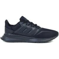 Cipők Gyerek Futócipők adidas Originals Runfalcon K Czarne