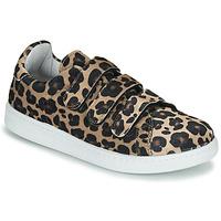 Cipők Női Rövid szárú edzőcipők Yurban LABANE Leopárd