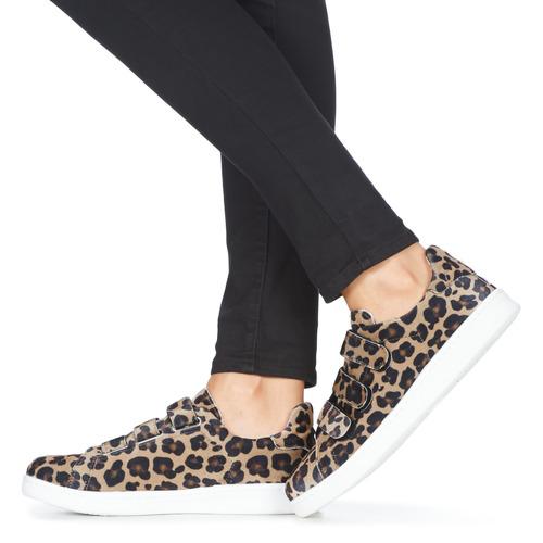Yurban LABANE Leopárd - Ingyenes Kiszállítás  Cipők Rövid szárú edzőcipők Noi 21 271 Ft sibrd