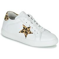 Cipők Női Rövid szárú edzőcipők Yurban LAMBANE Fehér