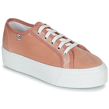 Cipők Női Rövid szárú edzőcipők Yurban SUPERTELA Rózsaszín