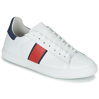 Cipők Férfi Rövid szárú edzőcipők Yurban LOUDE Fehér