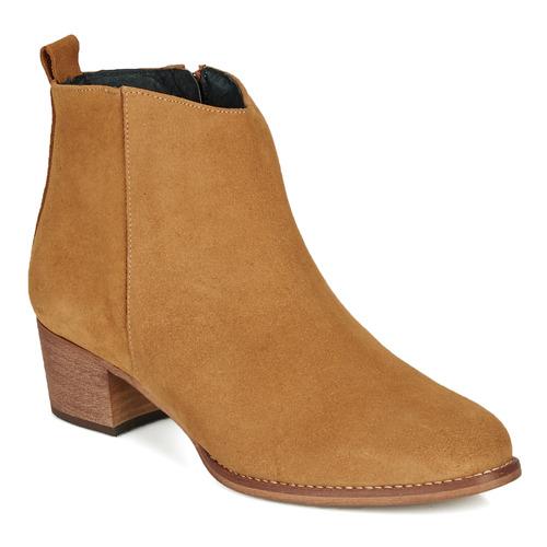 Cipők Női Bokacsizmák So Size MARTINO Teve