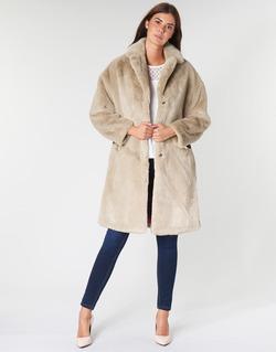 Ruhák Női Kabátok Guess SHELLY Bézs