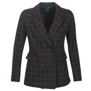 Ruhák Női Kabátok Benetton SUDIDEL Fekete