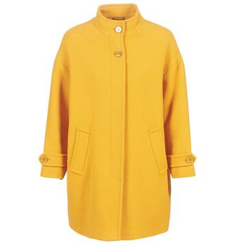 Ruhák Női Kabátok Benetton STORI Citromsárga