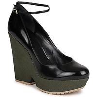 Cipők Női Félcipők Sonia Rykiel LOCK Fekete  / Zöld