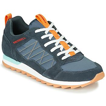 Cipők Férfi Rövid szárú edzőcipők Merrell ALPINE SNEAKER Kék / Narancssárga