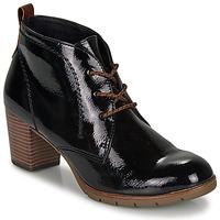 Cipők Női Bokacsizmák Marco Tozzi  Fekete
