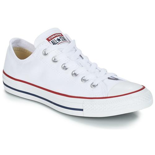 Cipők Rövid szárú edzőcipők Converse CHUCK TAYLOR ALL STAR CORE OX Fehér / Optikai