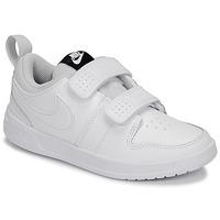 Cipők Gyerek Rövid szárú edzőcipők Nike PICO 5 PRE-SCHOOL Fehér