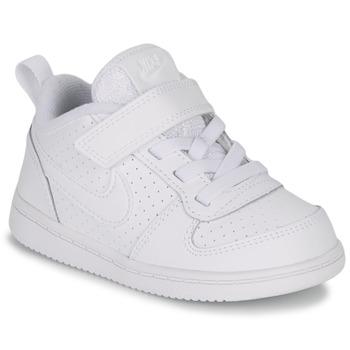 Cipők Gyerek Rövid szárú edzőcipők Nike PICO 5 TODDLER Fehér