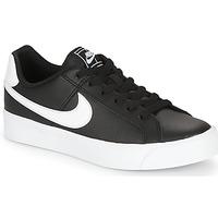 Cipők Női Rövid szárú edzőcipők Nike COURT ROYALE AC W Fekete  / Fehér