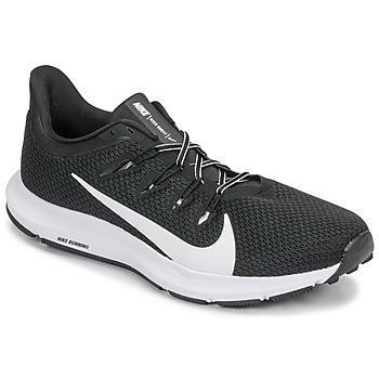 Cipők Férfi Futócipők Nike QUEST 2 Fekete  / Fehér
