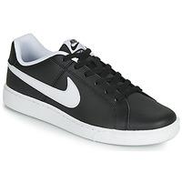 Cipők Férfi Rövid szárú edzőcipők Nike COURT ROYALE Fekete  / Fehér