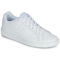 Cipők Férfi Rövid szárú edzőcipők Nike COURT ROYALE Fehér