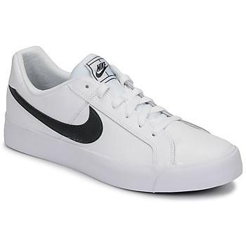 Cipők Férfi Rövid szárú edzőcipők Nike COURT ROYALE AC Fehér / Fekete