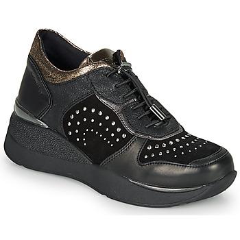 Cipők Női Rövid szárú edzőcipők Stonefly ELETTRA 6 Fekete