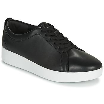 Cipők Női Rövid szárú edzőcipők FitFlop RALLY Fekete