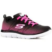 Cipők Fiú Rövid szárú edzőcipők Skechers Skech Appeal 20 Czarne,Różowe