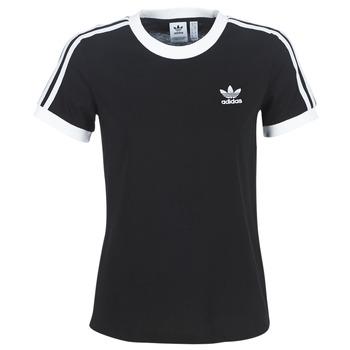Ruhák Női Rövid ujjú pólók adidas Originals 3 STR TEE Fekete