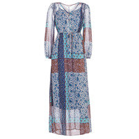 Ruhák Női Hosszú ruhák Cream SAMA Kék / Barna