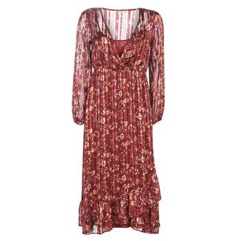 Ruhák Női Hosszú ruhák Cream NILA Piros