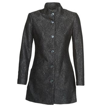 Ruhák Női Kabátok Desigual SIMONE Fekete