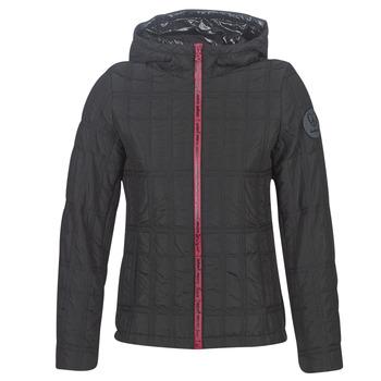 Ruhák Női Steppelt kabátok Desigual EDIMBURGO Fekete