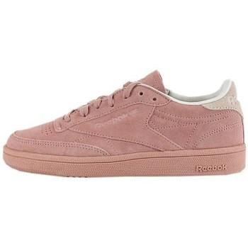 Cipők Női Rövid szárú edzőcipők Reebok Sport Club C 85 Nbk Rózsaszín