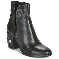 Cipők Női Bokacsizmák Mjus TWISTER METAL Fekete