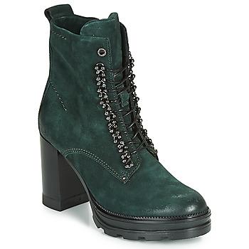 Cipők Női Bokacsizmák Mjus AMARANTA Zöld