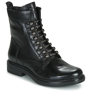 Cipők Női Csizmák Mjus CAFE STYLE Fekete