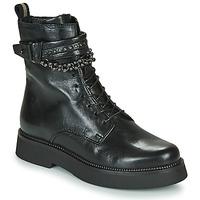 Cipők Női Csizmák Mjus TRIPLE STRAP Fekete