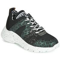 Cipők Női Rövid szárú edzőcipők Meline LETTE Fekete  / Zöld