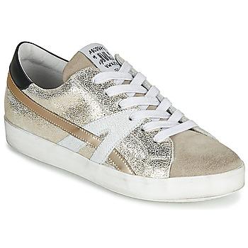 Cipők Női Rövid szárú edzőcipők Meline MEL Arany