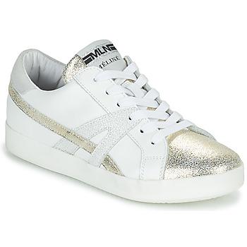 Cipők Női Rövid szárú edzőcipők Meline CRINO Fehér