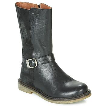 Cipők Lány Városi csizmák Aster WALI Fekete