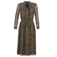 Ruhák Női Rövid ruhák Deeluxe SELENA Fekete