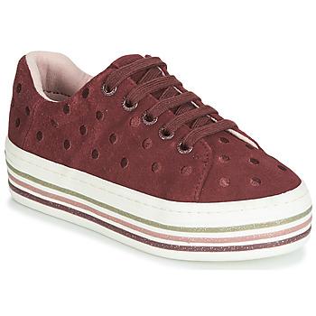 Cipők Lány Rövid szárú edzőcipők Gioseppo FUSSEN Bordó