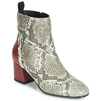 Cipők Női Bokacsizmák Gioseppo NEUBURG Piton / Bordó