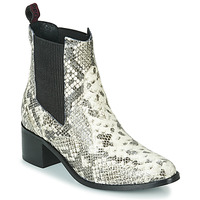 Cipők Női Bokacsizmák Gioseppo MIKKELI Fekete  / Fehér