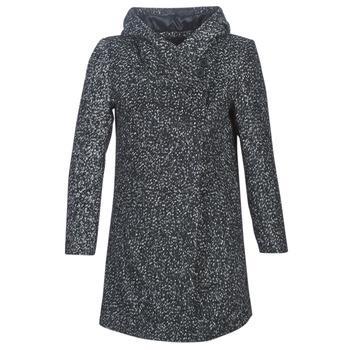 Ruhák Női Kabátok Casual Attitude LOUA Szürke / Fekete